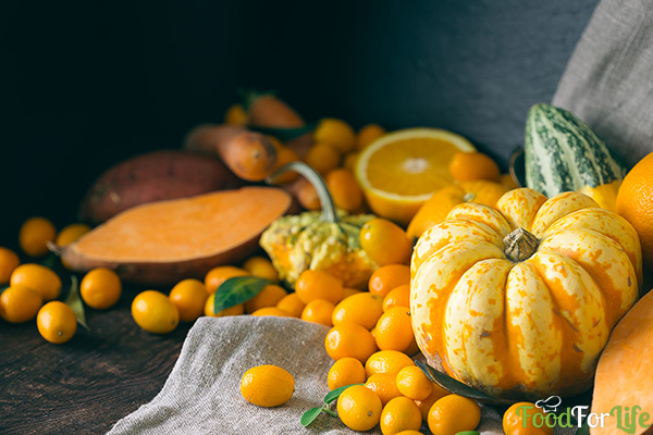 Autumn Harvest Composition for Thanksgiving Day